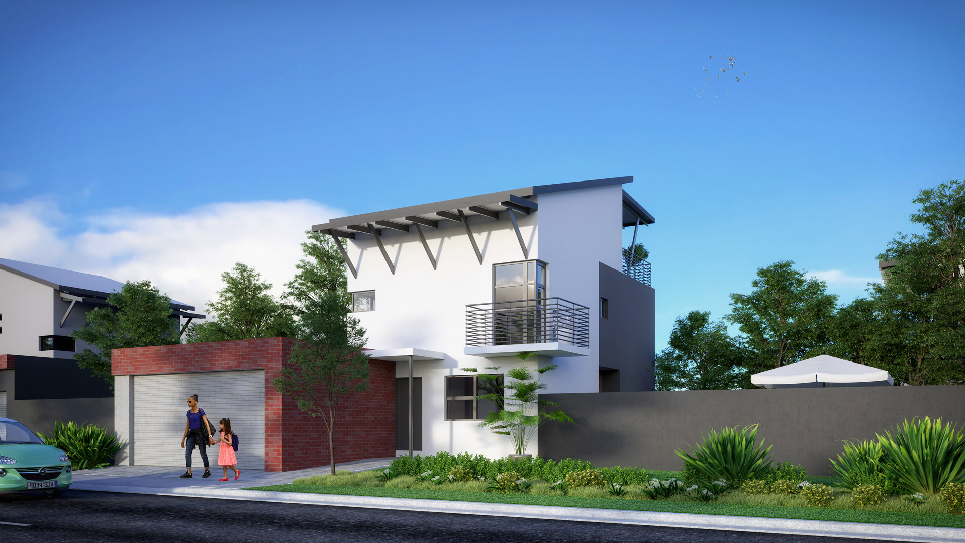 URBAN HOME DOUBLE STOREY 4 BEDROOMS + 3 BATHROOMS