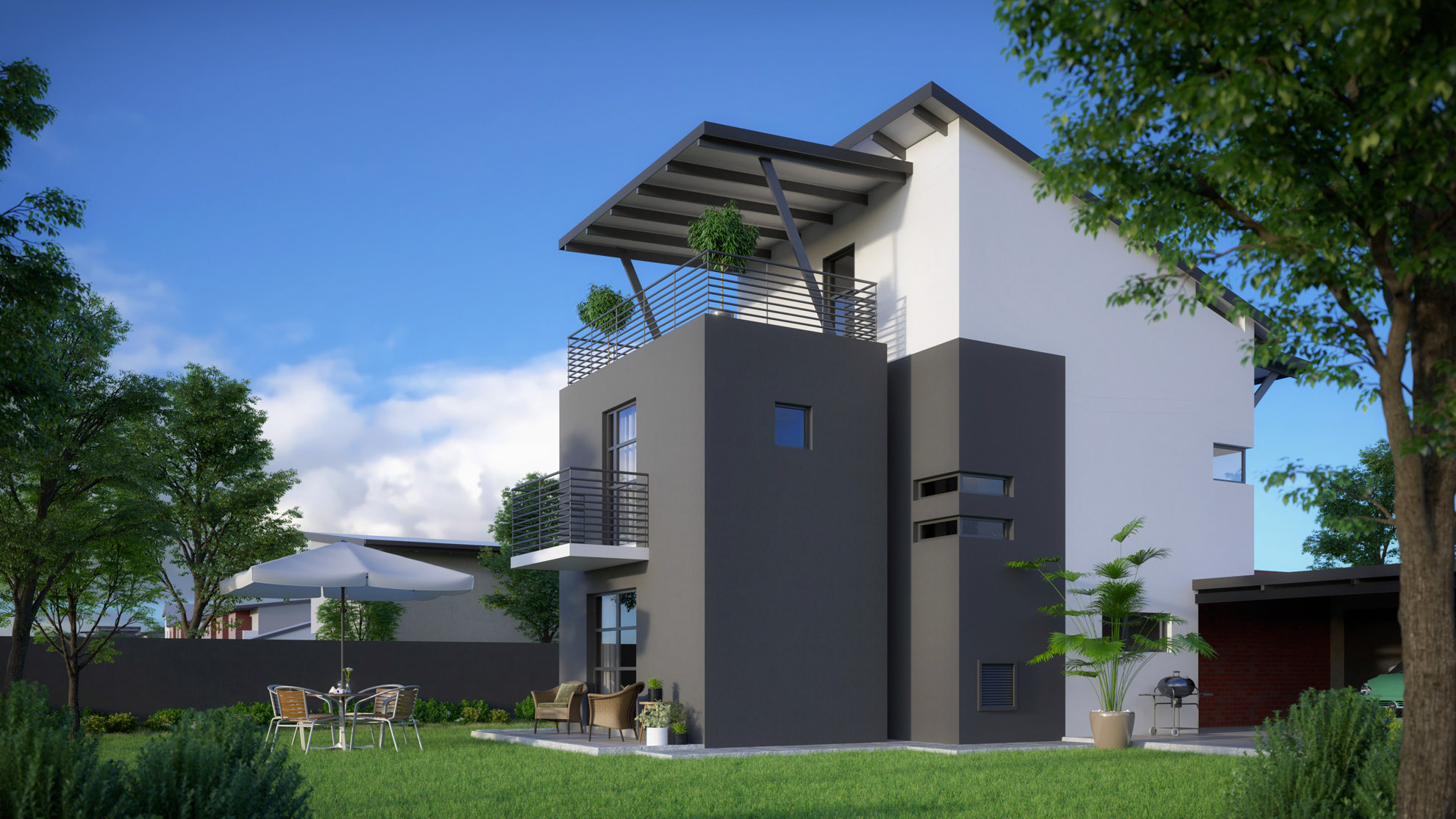 URBAN HOME DOUBLE STOREY 2 BEDROOMS + 2 BATHROOMS